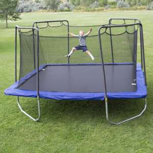 kid playing on the backyard